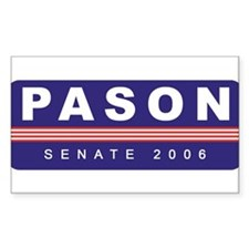 Support Greg Pason Rectangle Decal