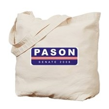Support Greg Pason Tote Bag