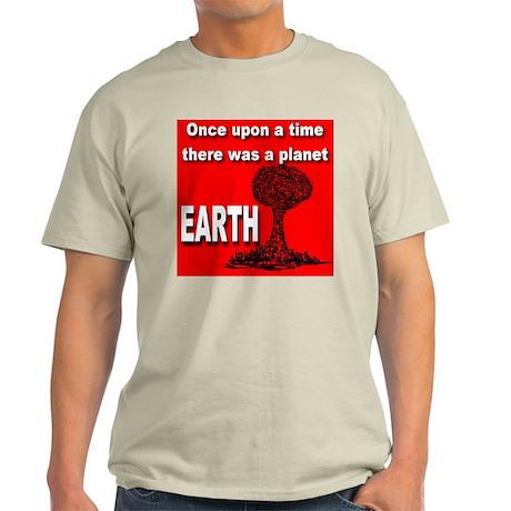 ... A PLANET EARTH Ash Grey T-Shirt
