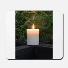 Candle in the Wild Greeting Card Mousepad