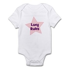 Lucy Rules Infant Bodysuit