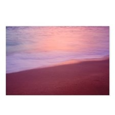 Beach, sunset Postcards (Package of 8)