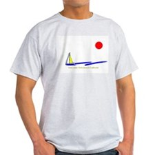 Twin Lakes  Ash Grey T-Shirt