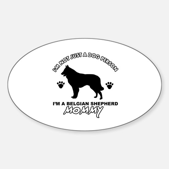 Belgian Shepherd Mommy Vector designs Decal