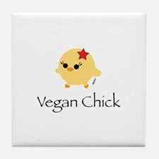 100% Vegan Tile Coaster