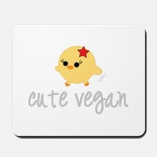 Cute Vegan Mousepad