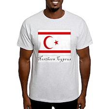 Northern Cyprus Ash Grey T-Shirt