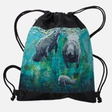 Three Sisters Drawstring Bag