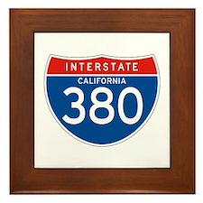 Interstate 380 - CA Framed Tile