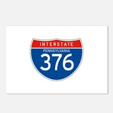 Interstate 376 - PA Postcards (Package of 8)