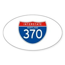 Interstate 370 - MD Oval Decal