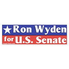 Senator Ron Wyden Bumper Bumper Sticker
