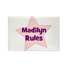 Madilyn Rules Rectangle Magnet