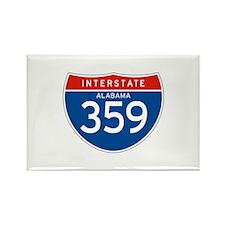 Interstate 359 - AL Rectangle Magnet