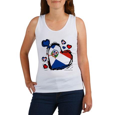 Dominican DR Heart Women's Tank Top