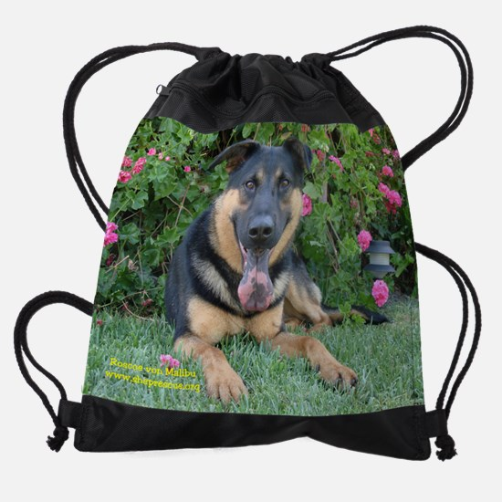 roscoe name.JPG Drawstring Bag