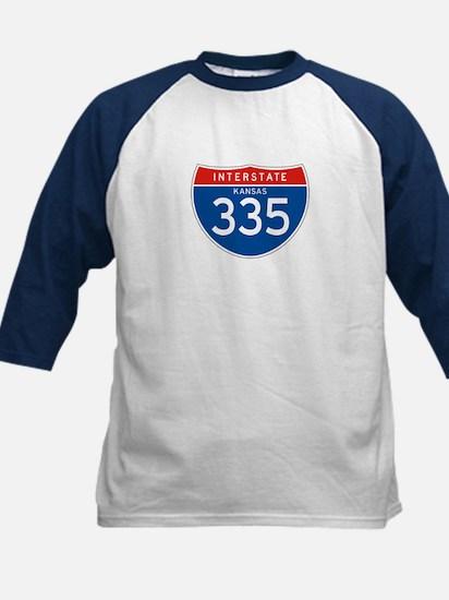 Interstate 335 - KS Kids Baseball Jersey