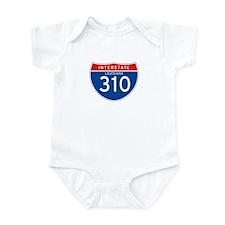 Interstate 310 - LA Infant Bodysuit