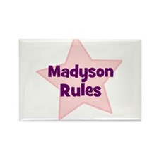 Madyson Rules Rectangle Magnet
