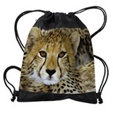 Cheetah Drawstring Bag