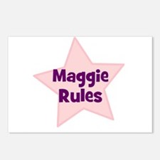 Maggie Rules Postcards (Package of 8)