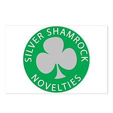 Silver Shamrock Postcards (Package of 8)
