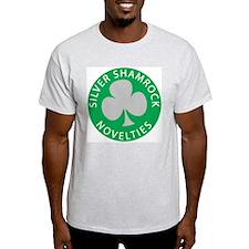 Silver Shamrock Ash Grey T-Shirt
