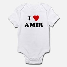 I Love AMIR Infant Bodysuit