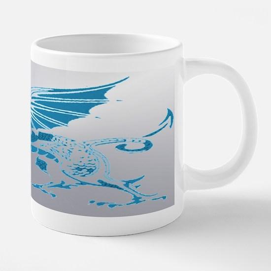 Blue Silver Mugs
