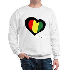 Rasta Heart Sweatshirt