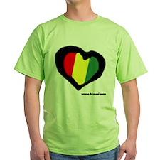 Rasta Heart T-Shirt