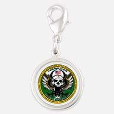 Freedom Unit Silver Round Charm