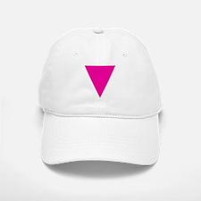 Pink Triangle Baseball Baseball Cap