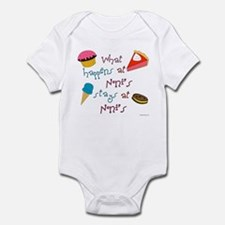 """What happens at Noni's"" Infant Bodysuit"