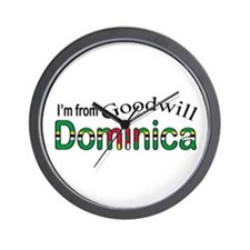 Goodwill Dominica Wall Clock