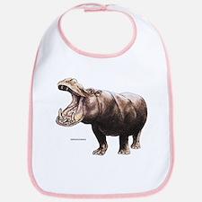 Hippopotamus Animal Bib