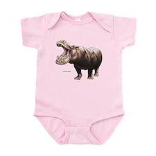 Hippopotamus Animal Infant Bodysuit