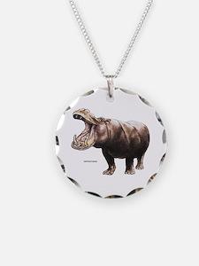 Hippopotamus Animal Necklace