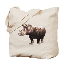 Hippopotamus Animal Tote Bag