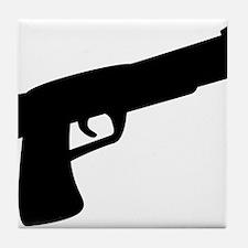 gun Tile Coaster