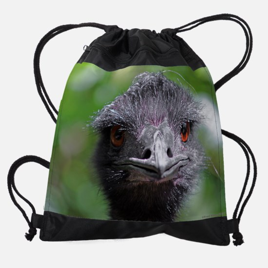 3-emu.png Drawstring Bag