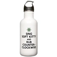 Soft Kitty Rub Counter-Clockwise Water Bottle