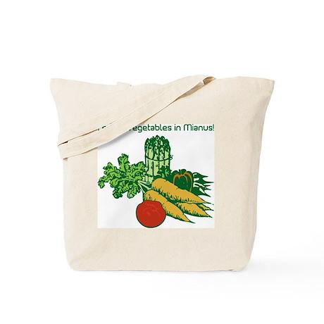 I Enjoy Veggies in Mianus, Canvas Shopping Bag