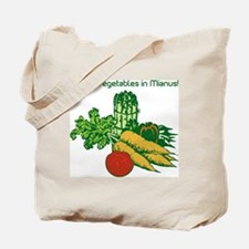 I Enjoy Veggies in Mianus, Canvas Shopping Bag