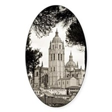 Cathedral of Segovia Decal