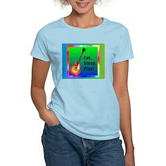 MUSIC Women's Pink T-Shirt