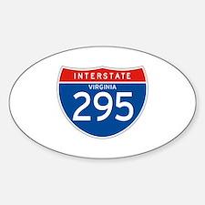 Interstate 295 - VA Oval Decal