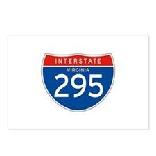 Interstate 295 - VA Postcards (Package of 8)