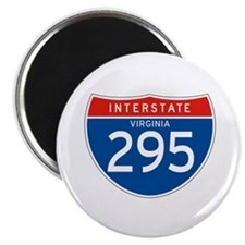 "Interstate 295 - VA 2.25"" Magnet (10 pack)"