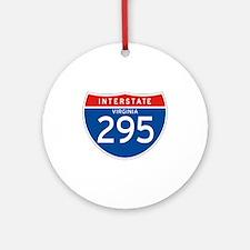 Interstate 295 - VA Ornament (Round)
